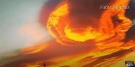 Céu em chamas na Turquia (vídeo)
