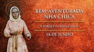 """Hoje, 14-6, é celebrada a Bem-Aventurada Nhá Chica, a """"Santinha de Baependi"""""""
