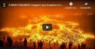 Maior Erupção de Lava - Erupção do vulcão Fagradalsfjall na Islândia (vídeo)