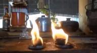 O gás acabou? Saiba como cozinhar sem gás, usando combustível sólido (vídeo)