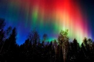 """...GRANDES SINAIS DO CÉU"" (Lc 21, 11)   Auroras boreais"