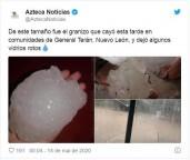 Eventos do fim dos tempos se desenrolando: Tempestade de areia apocalíptica e praga bíblica de gafanhotos transformam dia em noite no Egito e no Irã, granizos gigantescos caem no México
