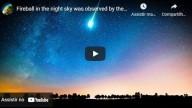 Bola de fogo no céu noturno do Pará é observada pela população local