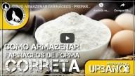 Como armazenar farináceos (Vídeo)