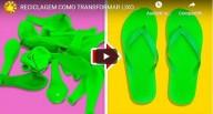 Reciclagem: como transformar lixo em algo adorável (vídeo)