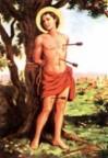 São Sebastião Mártir (invocado contra as pestes e os inimigos da religião)