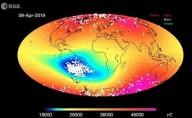 Campo magnético acima do Brasil está cada vez mais fraco e causa falhas em satélites